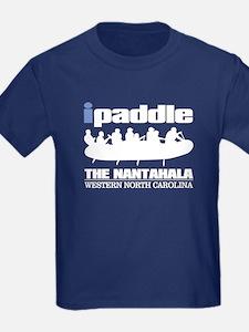 ipaddle raft (Nantahala) T-Shirt
