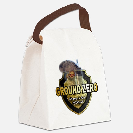 GroundZero Canvas Lunch Bag