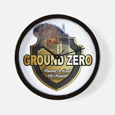 GroundZero Wall Clock