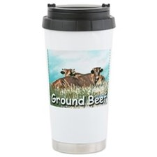 2-GROUND BEEF greeting card Travel Mug