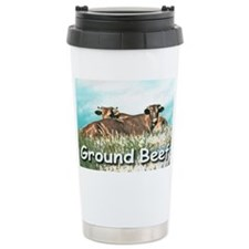 GROUND BEEF cap Travel Coffee Mug