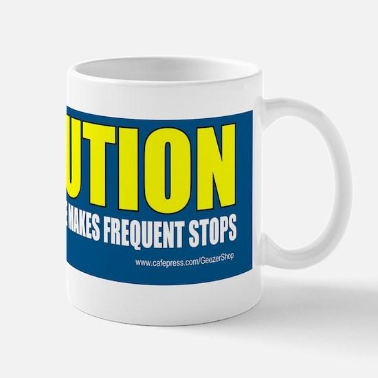 Frequent stops Mug