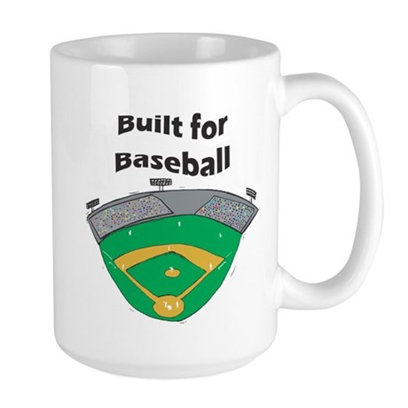 Built for Baseball Large Mug