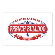 French-Bulldog Postcards (Package of 8)
