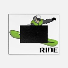 SnowboarderBack Picture Frame