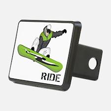 SnowboarderBack Hitch Cover