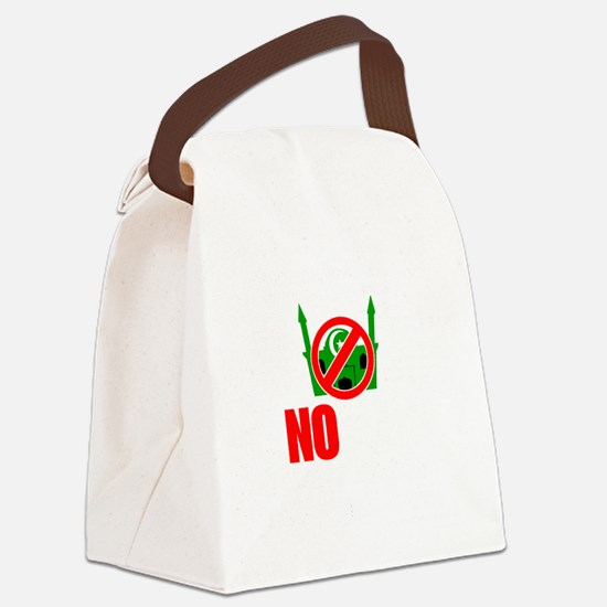 victory mosque 3 dark Canvas Lunch Bag