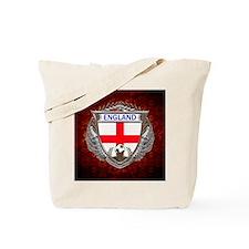 England Soccer Keepsake Box Tote Bag