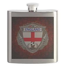 England Soccer Keepsake Box Flask