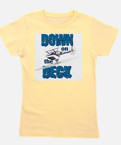 Down on the Deck Girl's Tee