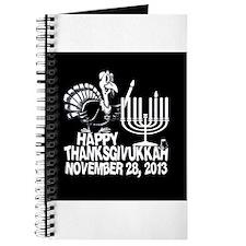 Happy Thanksgivukkah Turkey and Menorah Journal