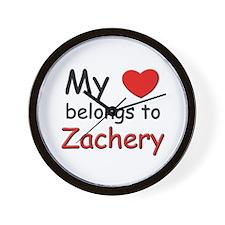 I love zachery Wall Clock
