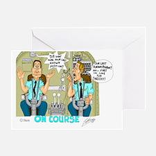 Airline Mug Greeting Card
