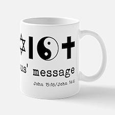 coexist w verse k Mug