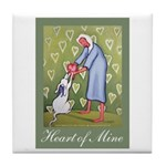 Heart of Mine Tile Coaster