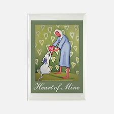 Heart of Mine Rectangle Magnet (10 pack)