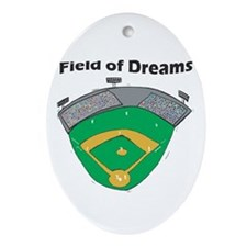 Field of Dreams Oval Ornament