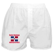 Santo Domingo Dominican Republic Designs Boxer Sho