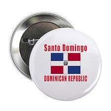 """Santo Domingo Dominican Republic Designs 2.25"""" But"""