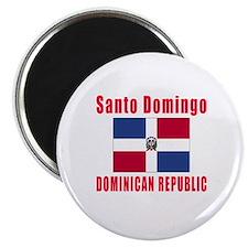 Santo Domingo Dominican Republic Designs Magnet
