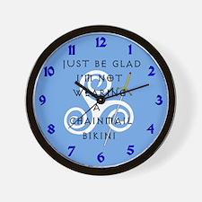 Chainmail Wall Clock