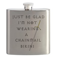 Chainmail Flask