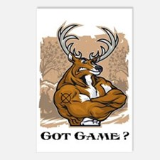 got game Postcards (Package of 8)