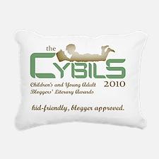 Cybils Logo 2010 - Sloga Rectangular Canvas Pillow
