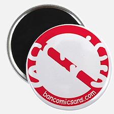 nocomicsans_dark_bg Magnet