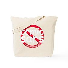 nocomicsans_dark_bg Tote Bag