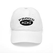 Proud Mimi (black) Baseball Cap
