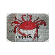 Annapolis, Maryland stickers for  Rectangle Magnet