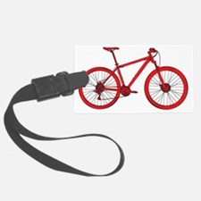 Red Hardtail Luggage Tag