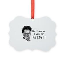 Kim Jong Il Ornament