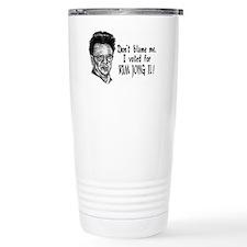 Kim Jong Il Travel Mug