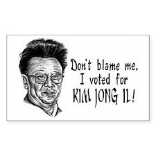 Kim Jong Il Decal