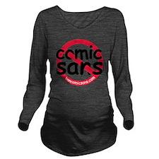nocomicsans Long Sleeve Maternity T-Shirt