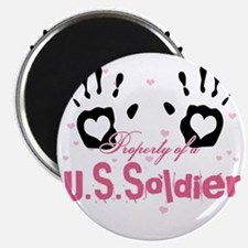 new property of us soldier Magnet