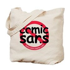 nocomicsans Tote Bag