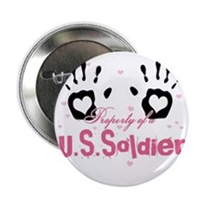 "new property of us soldier 2.25"" Button"