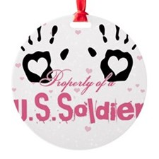 new property of us soldier Ornament
