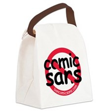 nocomicsans Canvas Lunch Bag