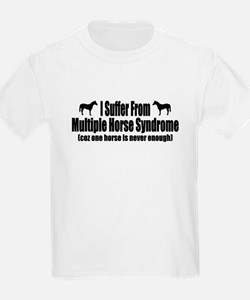 Multiple Horse Syndrome T-Shirt