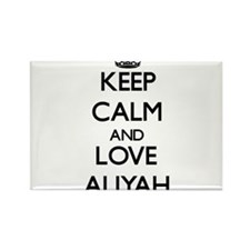 Keep Calm and Love Aliyah Magnets