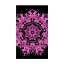 Pink Abstract Decal