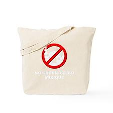 NoGroundZeroMosque-Dark Tote Bag