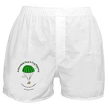 DIDT logo with slogan Boxer Shorts