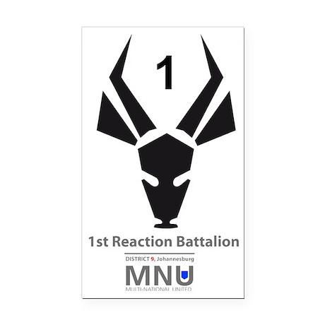 T-shirt-1st-reacion Rectangle Car Magnet