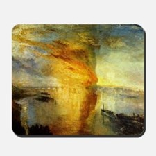 Burning Houses of Parliament Mousepad