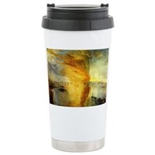 Burning Houses of Parliament Travel Mug